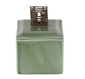 Porslinsask, grön