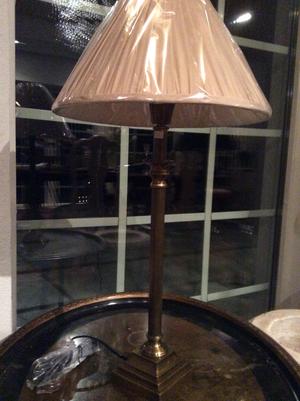 Mässinglampa