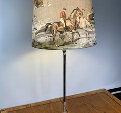 Lampskärm med hästar