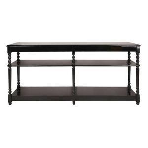 svart Sidbord