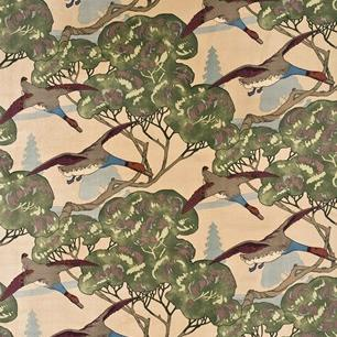 Flying ducks, sammet