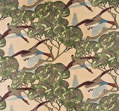 Flying ducks, sammet
