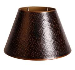 Brun lampskärm