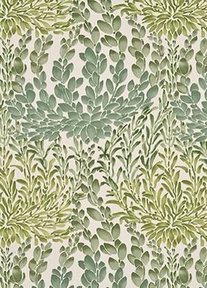 Leaf Cascade cotton